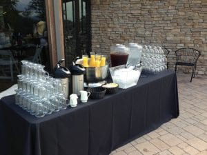 Beverage Station Brunch Catering Frederick MD