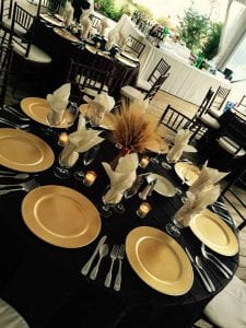 Fall Table Setting at Walkers Overlook - Event Planning Frederick MD