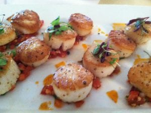 Fresh Scallops - Wedding Catering Frederick MD