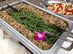 Green Beans Wild Rice with Herbs