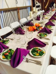 Head Table - Corporate Event Catering Frederick MD