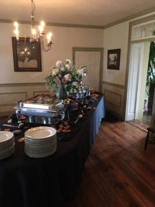 Indoor Buffet Catering Frederick MD