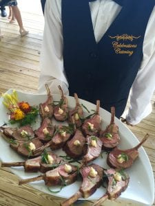 Lamb Lollipops with Parsnip Puree