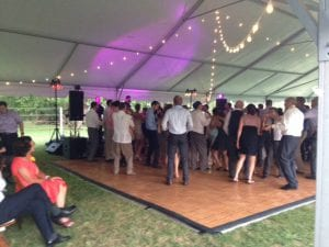 Rockland Estates Tent Reception- Catering Frederick MD