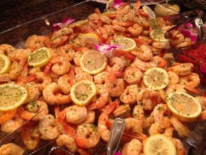 Shrimp Cocktail Display - Catering Frederick MD