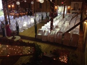 Springfield Indoor Ceremony - Wedding Catering MD