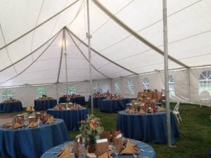 Stoney Creek Farm Tent Reception