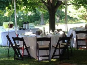 Stoney Creek Tables - Wedding Catering Maryland