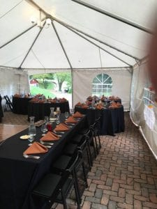 Stoney Creek Tented Reception