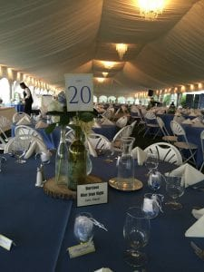 Tent Reception - Corporate Catering MD