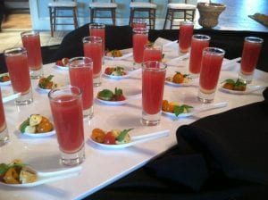 Watermelon Shooters - Cocktail Catering Frederick MD