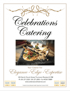 Caterer Frederick MD